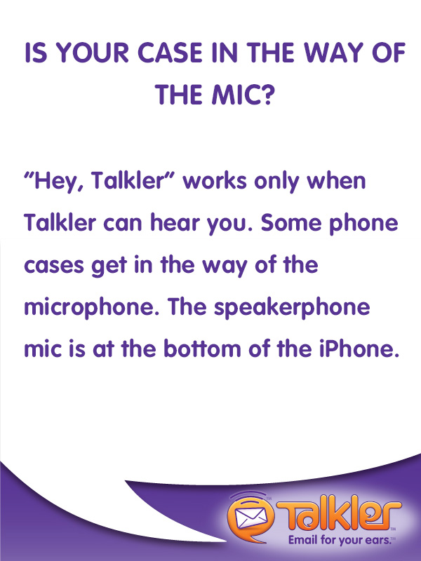 Talkler Tips - Phone Case