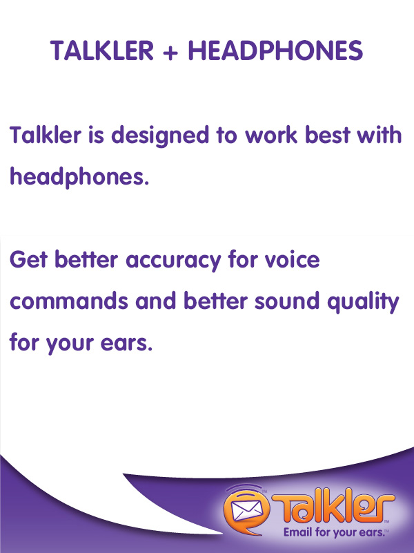 Talkler Tips - Headphones